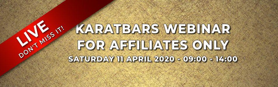 Karatbars Live Webinar