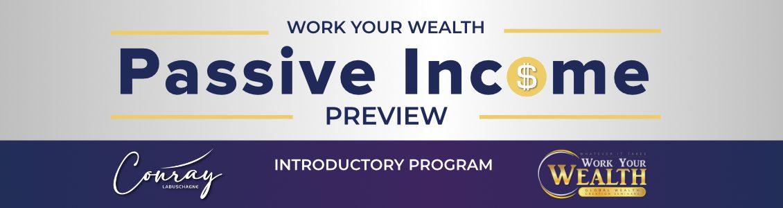 Passive Income Preview